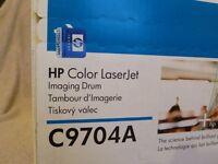 Original HP Color LaserJet C9704A Imaging Drum brand new in sealed box