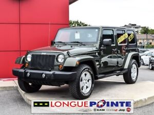 2007 Jeep Wrangler Unlimited Sahara SEULEMENT 78000 KM