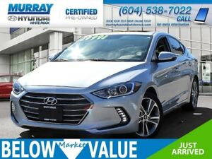 2017 Hyundai Elantra Limited SE**NAVI**REAR CAMERA**BLUETOOTH**