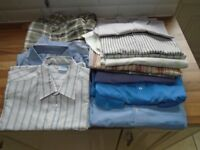 "MENS SHIRTS, @15 AVA, SIZE 15/16"", ALL CLEAN."