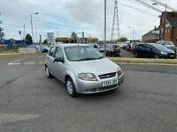 Chevrolet kalos 1.2 petrol with long mot and low miles