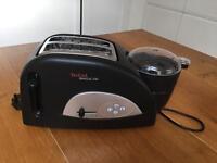 Tefal Toaster, Egg and Bean Maker TT552842, Two Slice - 1200 W