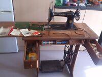 Sewing machine, singer