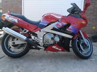 Kawasaki zzr600 , excellent condition , low mileage