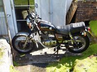 1996 Suzuki GN250 converted to cafe racer style. £1250 ono.