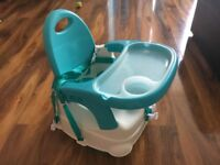 Baby/Toddler Adjustable High Chair/Booster Seat with Tray