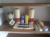 Assorted Candles - Car Boot Sale