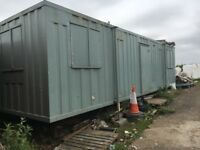 Anti vandal container site office store changing rooms