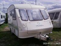 Caravan Elddis Tornado XL, 1994, 4 berth (optional 5 berth) - SOLD