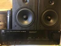 JVC amp And subs