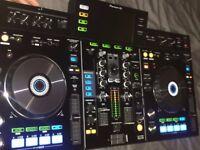 Pioneer Recordbox XDJ-RX Decks ++MAGMA FLIGHT CASE ++Sony MDR-V55 DJ Headphones