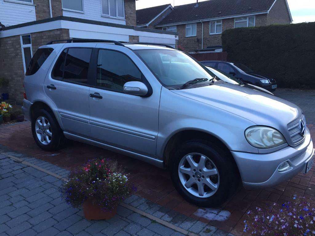 Mercedes ml 270 cdi 2003 7 seater only 105000 miles