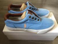Polo Ralph Lauren blue slip on size 5