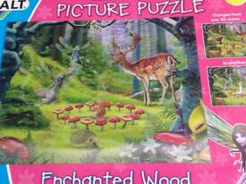 3D Enhanted Wood puzzle