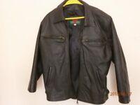 Leather Motorcycle jacket like new