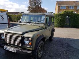 Ex military Land Rover 90 – 1987 2.3cc non turbo