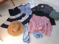 COLLECTION OF WOMENS/GIRLS CLOTHING