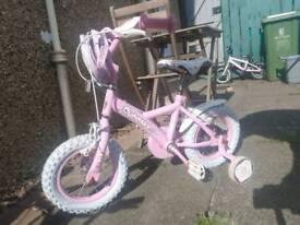 Girls 12'push bike