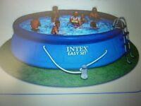NEW intex 15' easy set pool