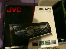 Car stereo JVC KD-R452 USB AUX