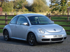 2007 VW BEETLE 1.4 LUNA **RUNNING WELL BUT WILL REQUIRE SOME REPAIRS**
