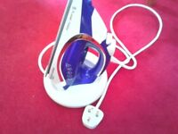 Cordless iron, Russell Hobbs, nearly new with instruction manual