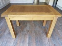 Solid Oak Dining Table 4 seater