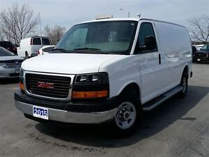 2015 GMC Savana 2500 CARGO VAN-C/W PARTITION-POWER WINDOWS & LOC
