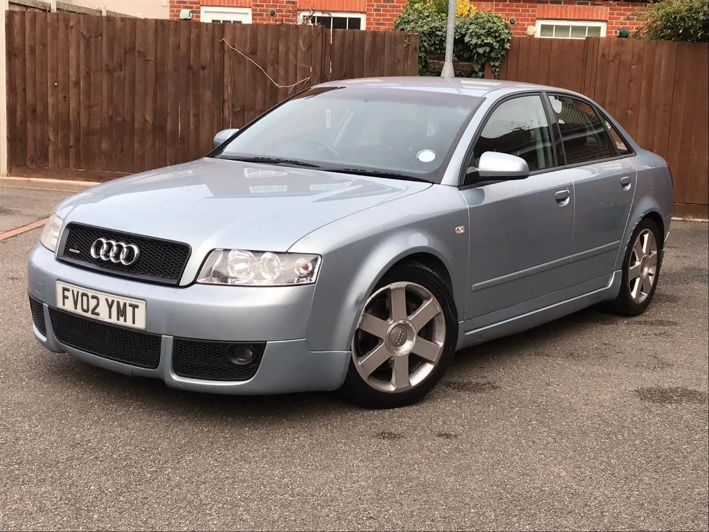 2002 AUDI A4 1.8T QUATTRO 4X4 S LINE MANUAL VORTEX KIT / MOT 08-