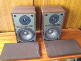 Vintage Scott 166 bookshelf speakers, made in the USA