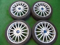 "FORD FOCUS ST170, FIESTA ZETEC ST 17"" inch ALLOY WHEELS"