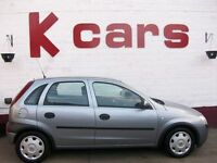 SMALL 5 DOOR VAUXHALL CORSA 1.2 CLUB LOW MILES FULL SERVICE HISTORY 12 MONTH MOT