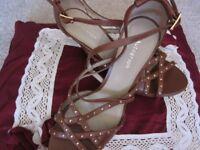 Autograph M & S Tan Strap Sandals