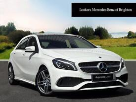 Mercedes-Benz A Class A 220 D AMG LINE PREMIUM PLUS (white) 2016-05-04