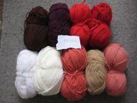 Various Bags of Knitting Yarn - Individually Priced