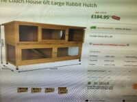 6ft Large Rabbit Hutch