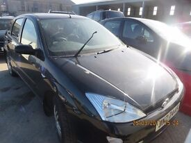 2001 FORD FOCUS, 1.4 PETROL ZETECBREAKING PARTS ONLY, POSTAGE AVAILABLE NATIONWIDE