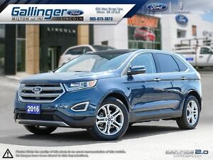 2016 Ford Edge TITANIUM w/PANORAMIC ROOF AND NAVIGATION