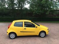 Fiat Punto 1.2 active 53 reg full history timing belt replaced mot November no advisories 48+ mpg