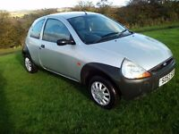 2003 Ford ka with low miles.
