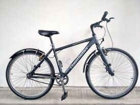 "(1745) 26"" 18"" Aluminium CLAUD BUTLER SINGLE SPEED BIKE BICYCLE Height: 165-180 cm (5'5""-5'11"")"