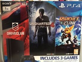 *BRAND NEW* PS4 SLIM 1TB + 3 GAMES