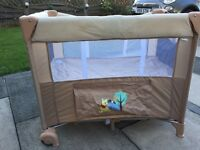 Winnie the Pooh travel cot for sale