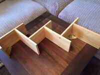 @@PINE ZIG ZAG SHELVING UNIT GREAT CONDITION@@