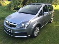 2007 Vauxhall Zafira 1.6 i 16v Life MPV 5dr 1 KEEPER S/H
