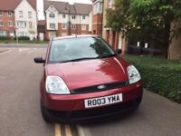 2003 Ford Fiesta 1.3 Finesse with Long MOT