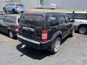 263 - Dodge Nitro 2009 Black Wrecking Welshpool Canning Area Preview
