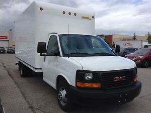 2015 GMC Savana 3500 CUBE 16 FOOT
