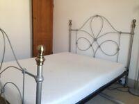 Double 5ft memory foam mattress, good condition