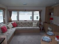 3 bedroom static caravan for sale by the sea North Devon,pet friendly park open all year